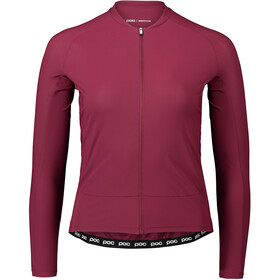 POC Essential Road Longsleeve Jersey Dames, propylene red